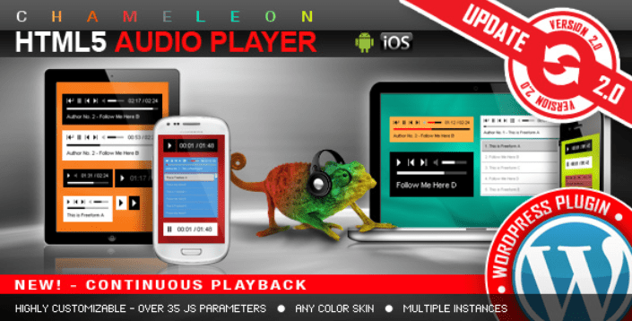 HTML5 Audio Player plugins wordpress premium ajouter lecteur audio