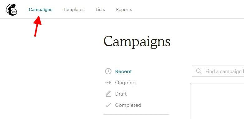 Campaigns mailchimp