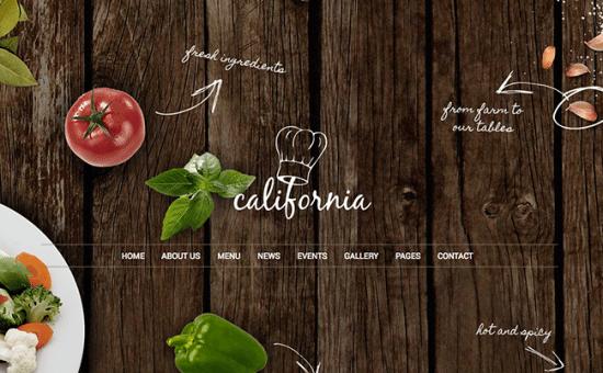 5 Temas de WordPress para crear un blog de comida | BlogPasCher