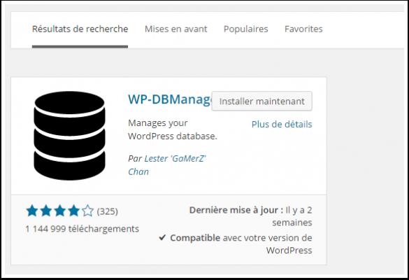 db-manager-cài đặt