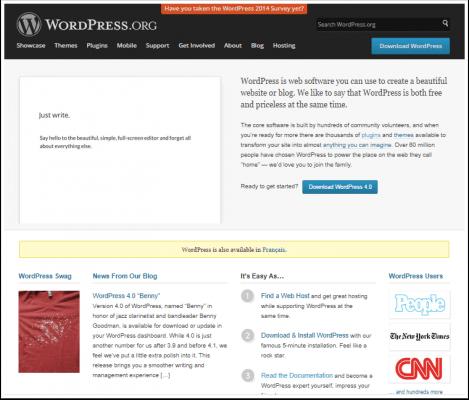wordpress-plateforme-du-cms