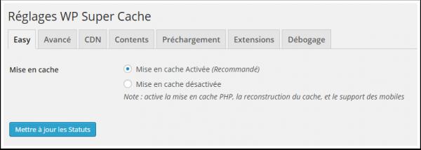 WP Super Cache 플러그인 설치 및 구성-wp-super-cache