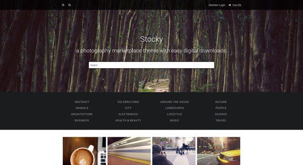 Fornido: un tema de WordPress para vender sus fotos en línea ...