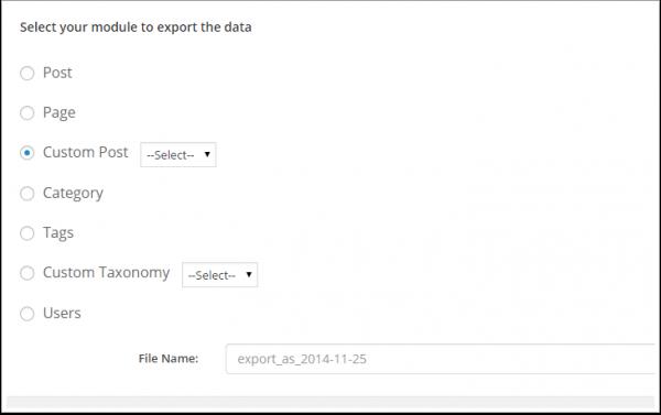 WP-Ultimate-CSV-Importer-choisir-le-module