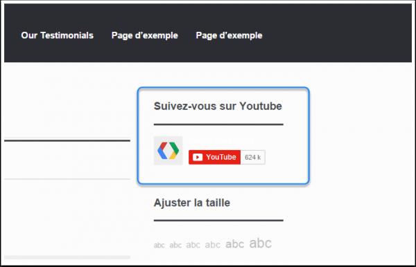comment ajouter un bouton d u0026 39 abonnement youtube sur wordpress