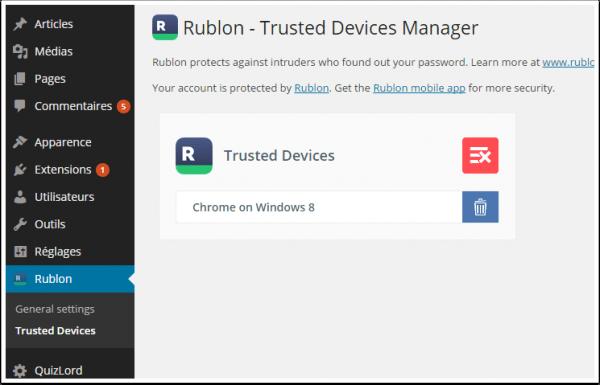 Rublon camera-on