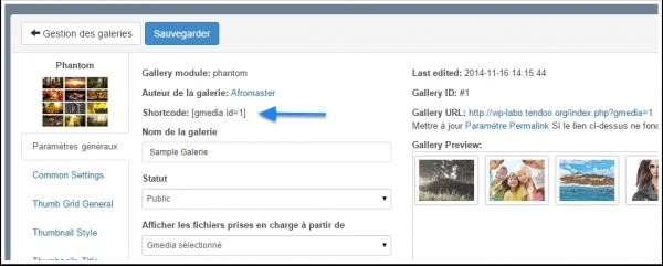 shortcode-resim galerisi-Gmedia