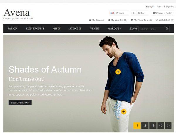 a85f6cb90 Avena: Um tema PrestaShop para uma boutique de moda | BlogPasCher