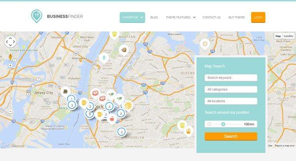 Business Finder : un thème pour créer un annuaire d'entreprises