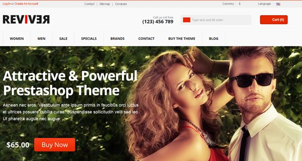 Reviver-Prestashop-Theme-PrestaShop-site-web-e-Commerce