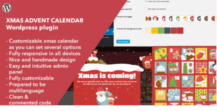 Xmas Advent Calendar WordPress Plugin