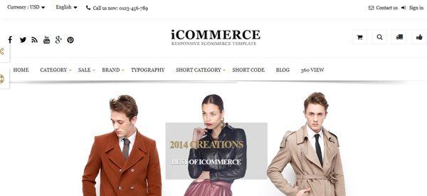 ICommerce PrestaShop Theme E Commerce Pour Creer Boutique Prestashop