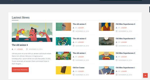 Registrador: el mejor tema de WordPress para crear un blog | BlogPasCher