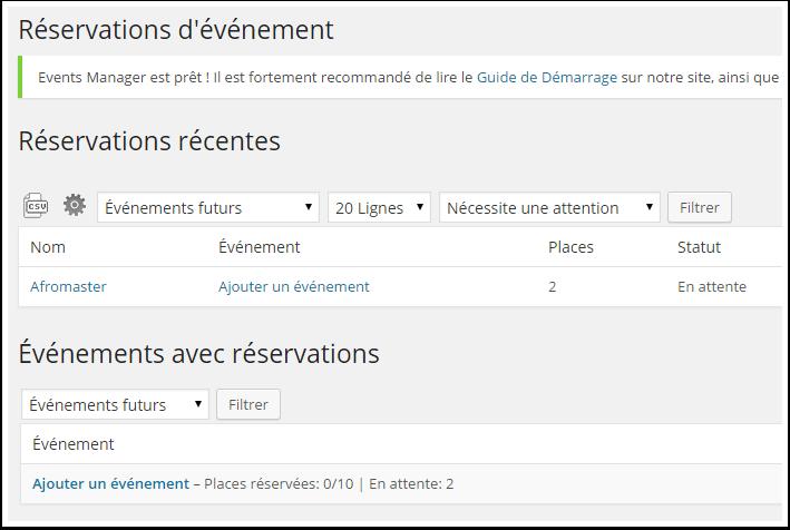 reserva-evento de calendario
