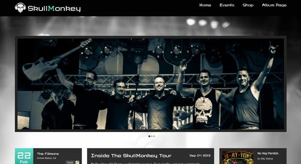 Rock Band-theme-criar-blog-wordpress-músico-music