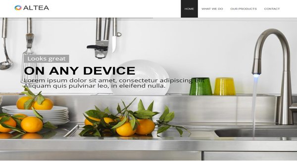 Altea un th me wordpress pour un site de d co int rieure for Sites de decoration interieure