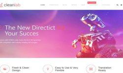 CleanLab-theme WordPress-to-create-a-site-d'entreprise