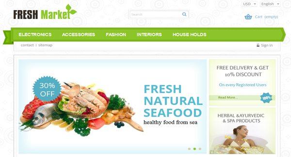 Fresh Market Thème Prestashop pour créer site eCommerce de fruit