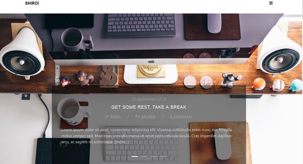 Shiroi-tema WordPress-to-create-your-blog