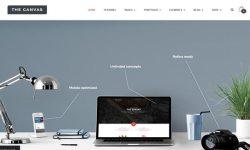 A-Canvas-theme WordPress-to-create-a-site-d'entreprise