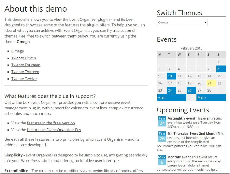 event-organiser-demo