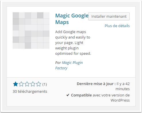 Magic-google-map-instalación