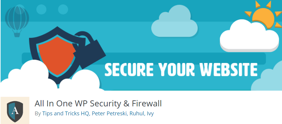 All in one wp security firewall