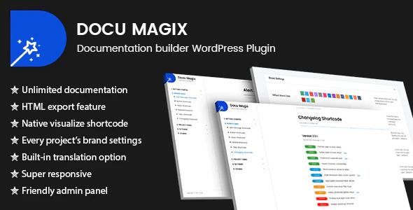 Docu magix Comment créer une documentation pour vos produits sur WordPress
