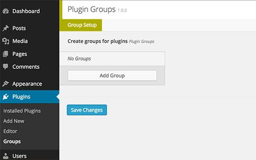 plugingroups