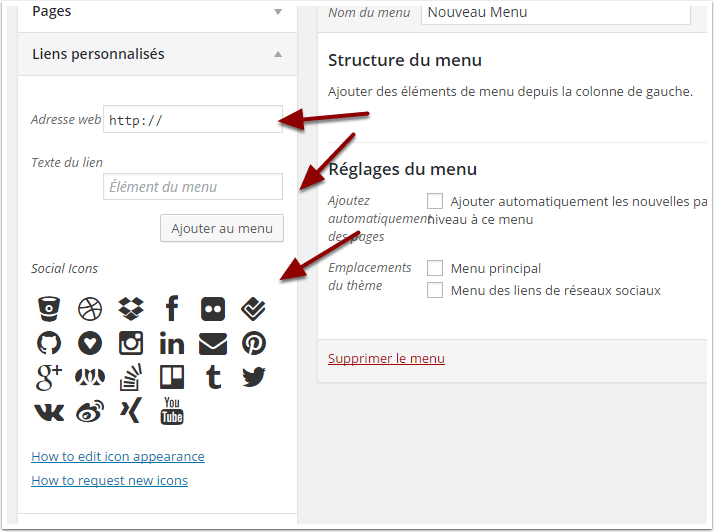 ajouter-les-icones