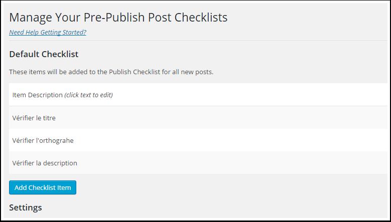 checklist-reglages