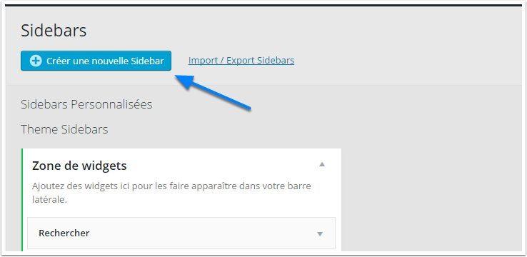 Cómo crear barras laterales personalizados para su blog de WordPress ...