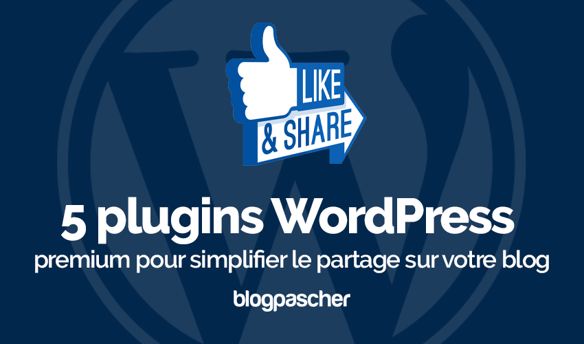 Plugin Wordpress Simplifier Partage Blog