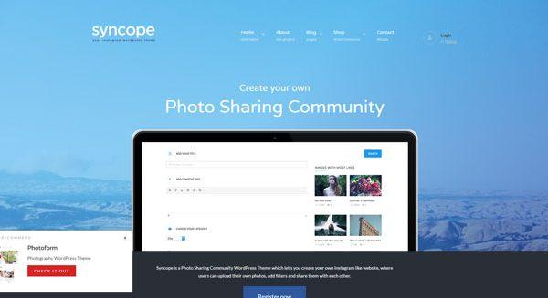 syncope-theme-wordpress-partage-video-instagram-communautaire-reseau-social