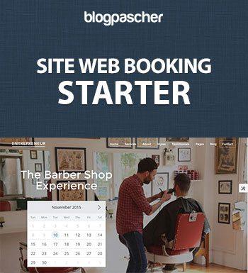 comment creer site internet booking reservation en ligne prix creation site web blogpascher. Black Bedroom Furniture Sets. Home Design Ideas