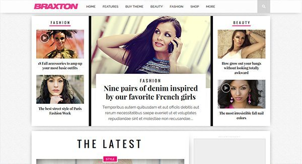 crear-blog-wordpress-belleza-pelo-moda tasa de creación de sitio-web-moda-estilista