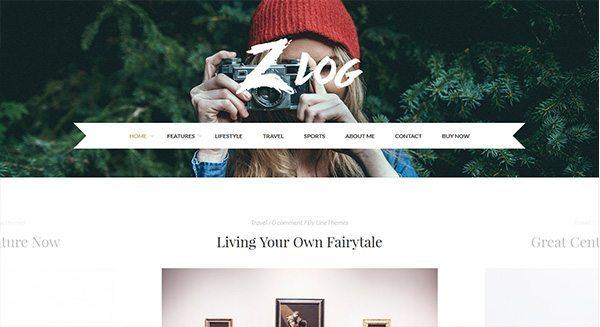 tema-wordpress-blog-crear-Viajes-decoración-manera-fotógrafo
