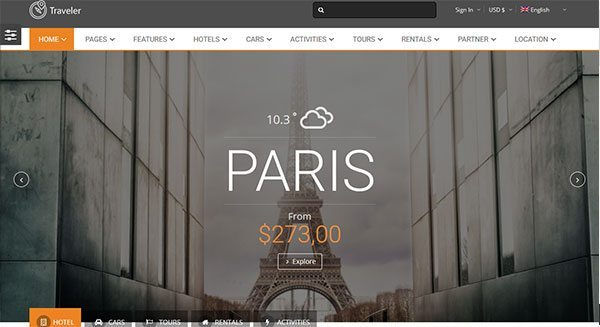 traveler-theme-wordpress-creer-site-internet-booking-systeme-reservation-en-ligne-tarif-paris