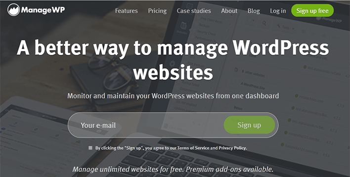 Managewp plugin wordpress migration clone sauvegarde