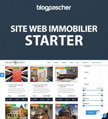 Créer Un Site Web Immobilier – Starter