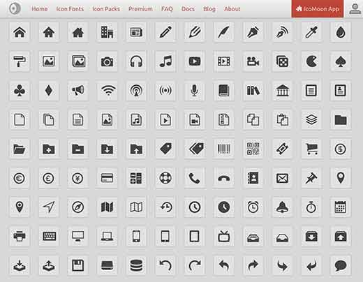 Cómo agregar iconos, fuentes en su tema de WordPress | BlogPasCher