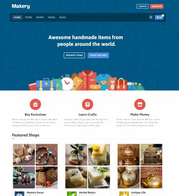 Markery – Un Thème WordPress Pour Créer Une Place De Marché