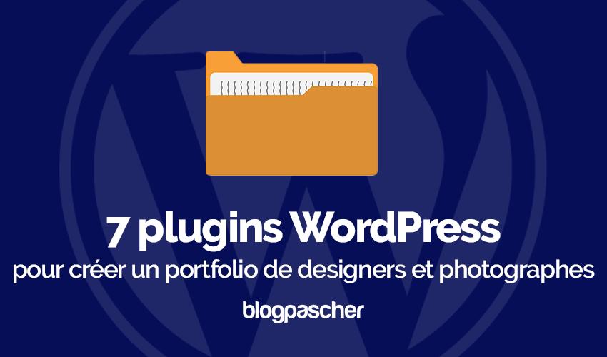 Plugin Wordpress Créer Portfolio Designers Photographes 1