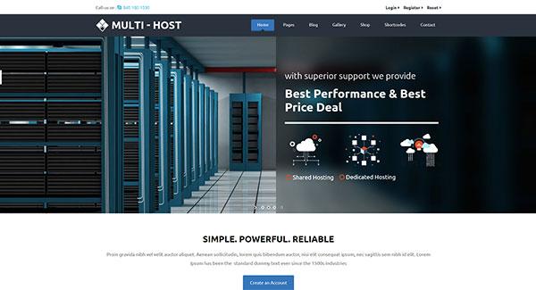Хостинг теме веб как подключиться ftp хостингу