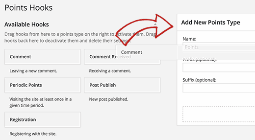 Ajouter un hook WordPoint