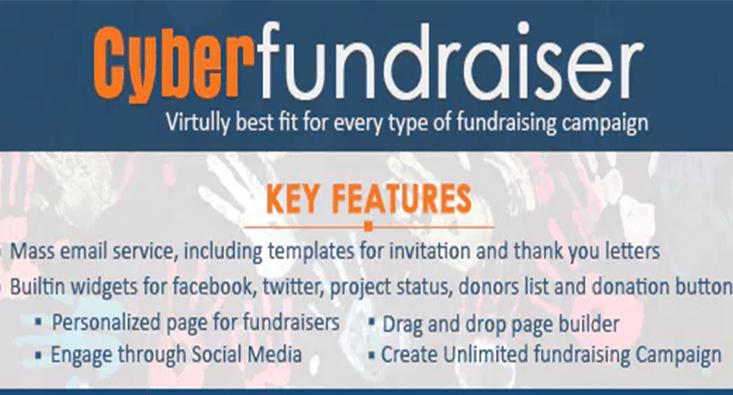 plugins WordPress pour créer un site Web à but non lucratif - Cyber fundraiser