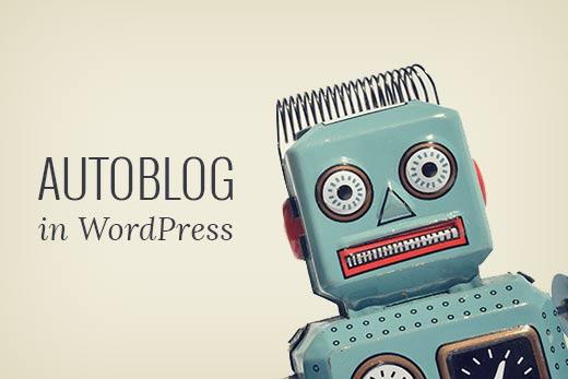 Create-A-Autoblog
