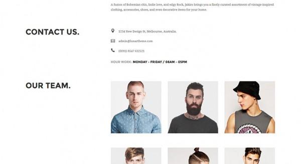 Jakiro - A WordPress theme to create a fashion website | BlogPasCher