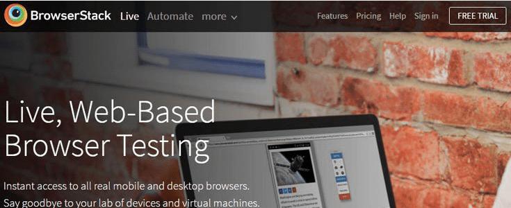 Browser testing outil pour tester un site web