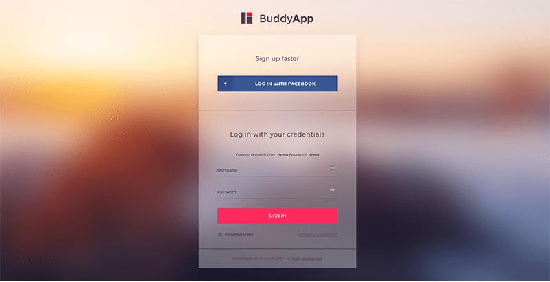 BuddyPress dating hem sida